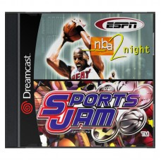 ESPN NBA & Sports Jam (2 in 1) Sega Dreamcast Б/У (Копия) - интернет магазин Retromagaz