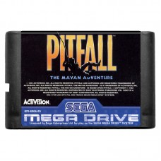 Pitfall The Mayan Adventure Sega Mega Drive 90х Б/У + Коробка - интернет магазин Retromagaz