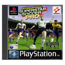 International Superstar Soccer Pro (E) PS1 Б/У - интернет магазин Retromagaz
