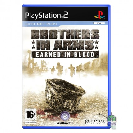 Игры PlayStation 2 Оригинал - Brothers in Arms Earned in Blood (E) PS2 Б/В