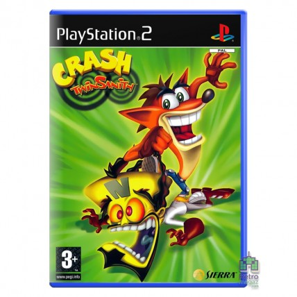 Игры PlayStation 2 Оригинал - Crash Twinsanity PS2 Б/В