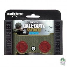 Накладки на стики KontrolFreek Call of Duty WW2 для джойстиков PS4 - интернет магазин Retromagaz