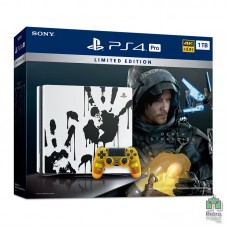 PlayStation 4 Pro 1TB Death Stranding Limited Edition + Игра Death Stranding (Русская озвучка) - интернет магазин Retromagaz