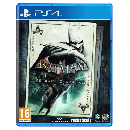 Игры PlayStation 4 Новые - Batman Return to Arkham (Arkham Asylum and Arkham City) PS4 (Російські субтитри)