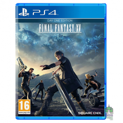 Игры PlayStation 4 Новые - Final Fantasy 15 XV Day One Edition PS4 (Російські субтитри) Б/В