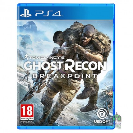 Игры PlayStation 4 Новые - Tom Clancy's Ghost Recon Breakpoint PS4 (Русская озвучка)