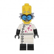 Lego Фигурка Monster Scientist Ученый Монстр col213 1 Оригинал Б/У О - интернет магазин Retromagaz