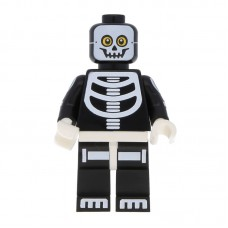 Lego Фигурка Skeleton Guy Парень Скелет col221 1 Оригинал Б/У О - интернет магазин Retromagaz