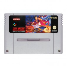 Disney's Aladdin (SNES, PAL, Оригинал) Б/У - интернет магазин Retromagaz