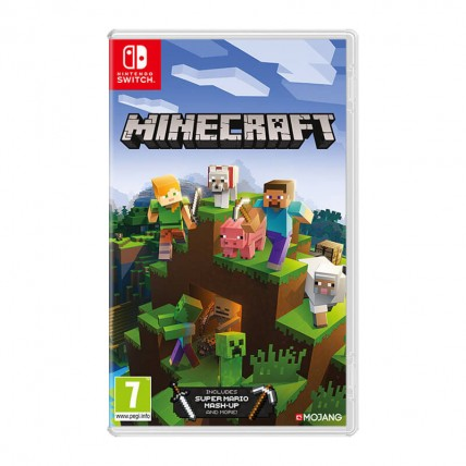 Игры Nintendo Switch Новые - Minecraft (Nintendo Switch, Русская версия)