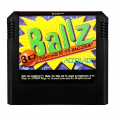 Ballz 3D Fighting at Its Ballziest (Sega Mega Drive, Америка, Оригінал) Б/В