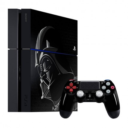 Консоли PlayStation 4 Новые - Sony PlayStation 4 Fat 500GB Star Wars Battlefront Limited Edition – ПО 2.56 + Набор Disney Infinity 3.0 Star Wars