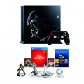Консоли PlayStation 4 Новые - Sony PlayStation 4 Fat 500GB Star Wars Battlefront Limited Edition – ПО 2.56 + Набор Disney Infinity 3.0 Star Wars - Фото № 1