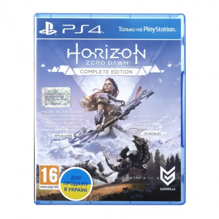 Игры PlayStation 4 Новые - Horizon Zero Dawn: Complete Edition (PS4, Русская версия)