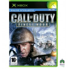 Call of Duty Finest Hour (PAL) Xbox Original оригинал Б/У - интернет магазин Retromagaz