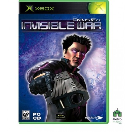Xbox Original ориг - Deus Ex Invisible War (PAL) Xbox Original Оригинал Б/У
