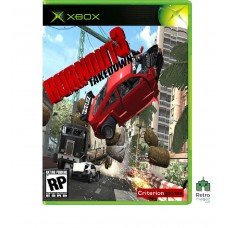 Burnout 3: Takedown (PAL) Xbox Original Оригинал Б/У - интернет магазин Retromagaz