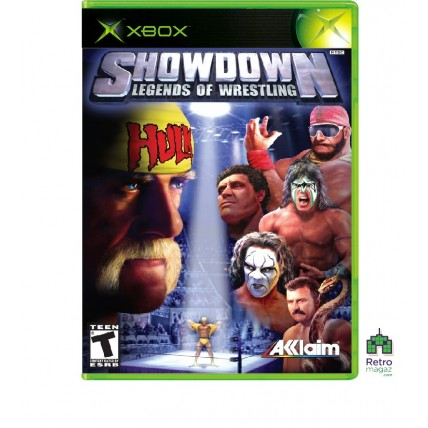Xbox Original ориг - Showdown Legends of Wrestling (PAL) Xbox Original Оригинал Б/У