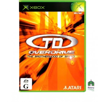 Xbox Original ориг - TD Overdrive The Brotherhood of Speed (PAL) Xbox Original Оригинал Б/У