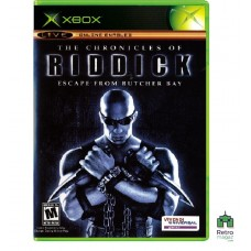 Chronicles of Riddick Escape from Butcher Bay (PAL) Xbox Original Оригинал Б/У - интернет магазин Retromagaz