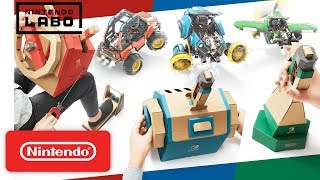 Nintendo Labo - Toy-Con 03: Vehicle Kit